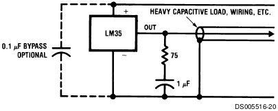 lm35-damping